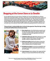 Shopping at the Corner Store PDF Preview