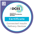 Connected Insulin Delivery Devices Certificate badge