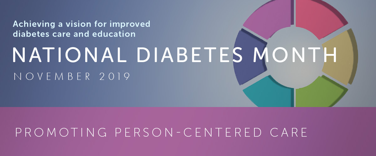 National Diabetes Month Person-Centered Care