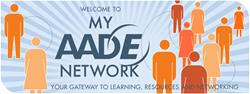My aade network banner