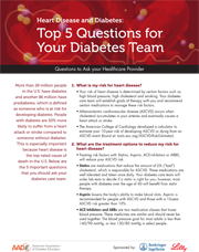 Tip Sheet 4 Top 5 questions