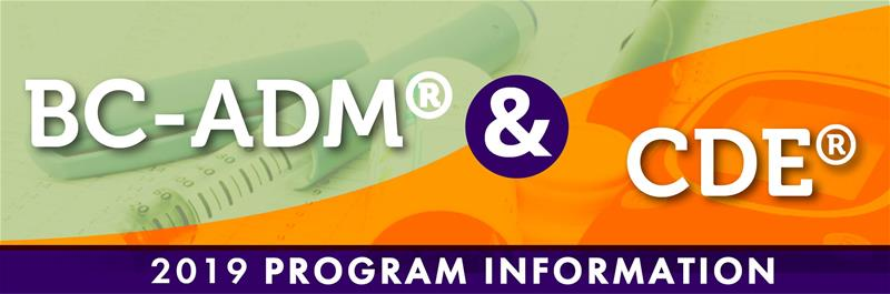 bc-adm and cde program information