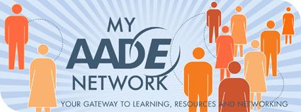 MY AADE NETWORK Welcome Banner