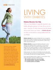 Living with Diabetes Brochure