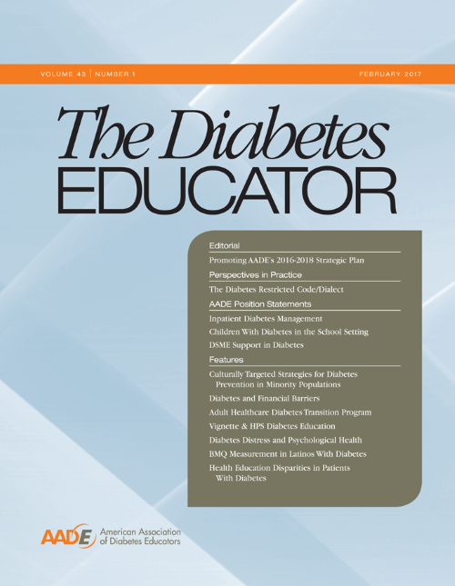 The Diabetes Educator Journal