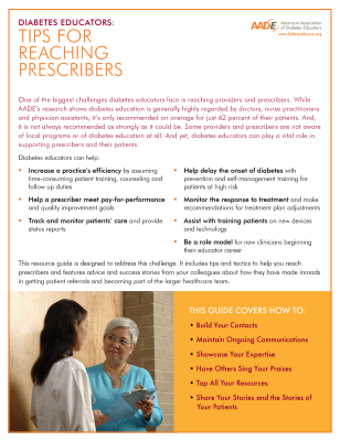 Tips for Reaching Prescribers
