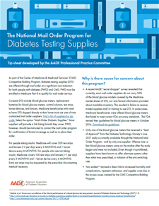 Mail Order Program Educator Tip Sheet