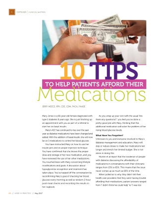 10 Tips to Help Patients Afford Medications