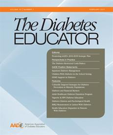 The Diabetes Educator Cover
