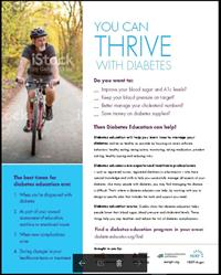 You Can Thrive flyer